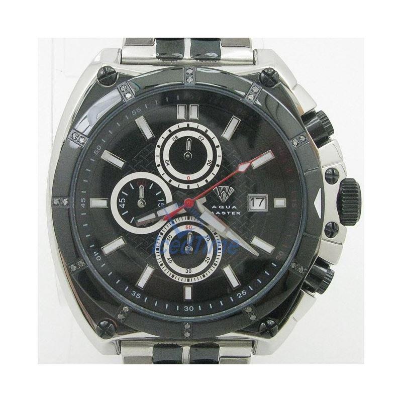 Mens Aqua Master Iced Out Diamond Watch  50727 1