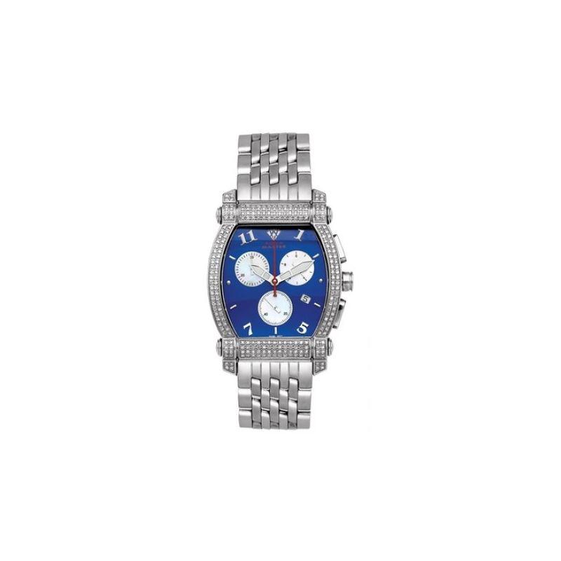 Aqua Master Diamond Watch Unisex Stainle 53450 1