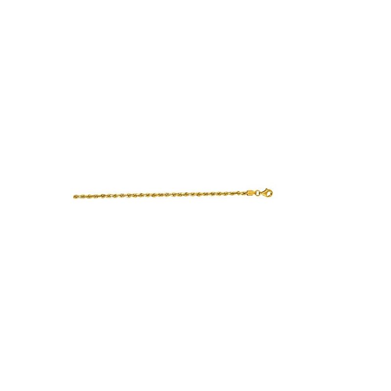 10K 18 inch long Yellow Gold 2.75mm wide 59115 1