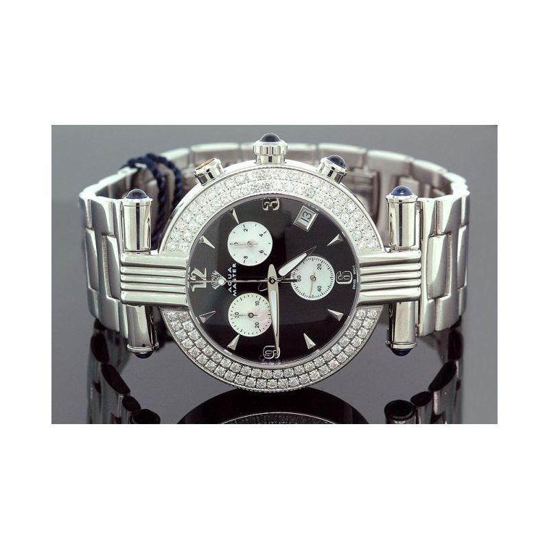 Ladies Aqua Master Diamond Watch 2.80 ct 28055 1