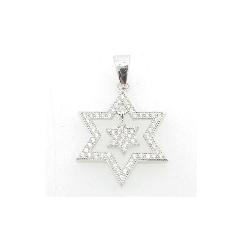 Ladies .925 Italian Sterling Silver star 74315 1
