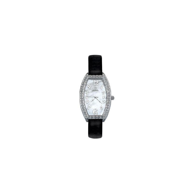Ladies' Oval Diamond Watch, 0.80 Ctw