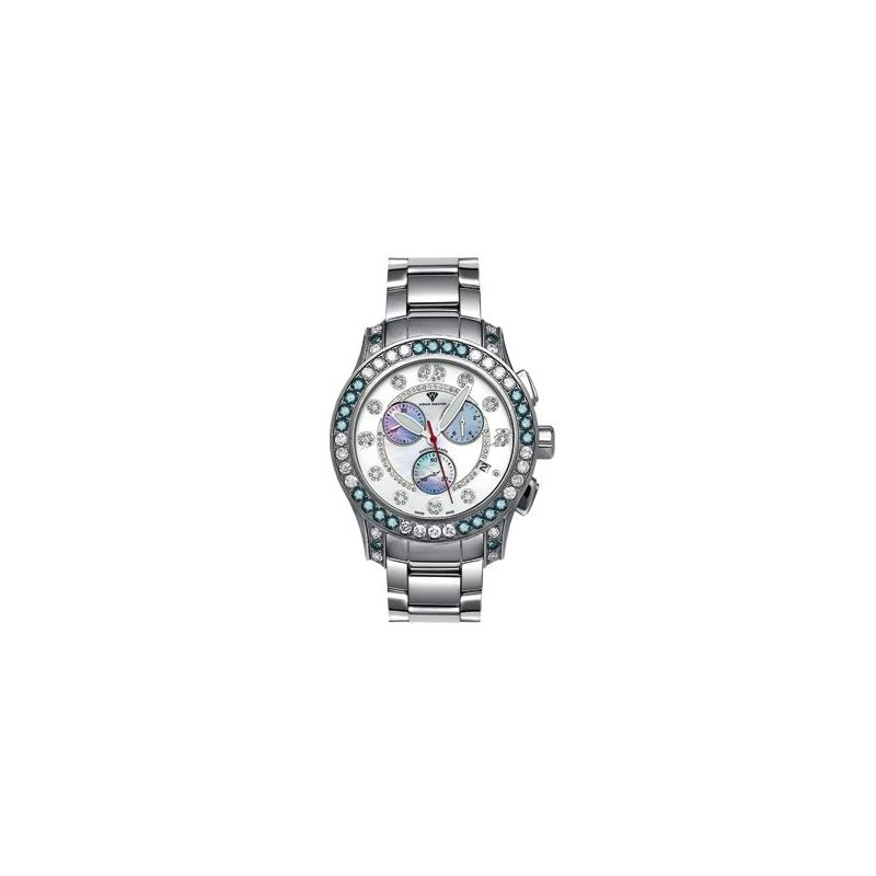 Men's Masterpiece Diamond Watch, 8.00 Ctw