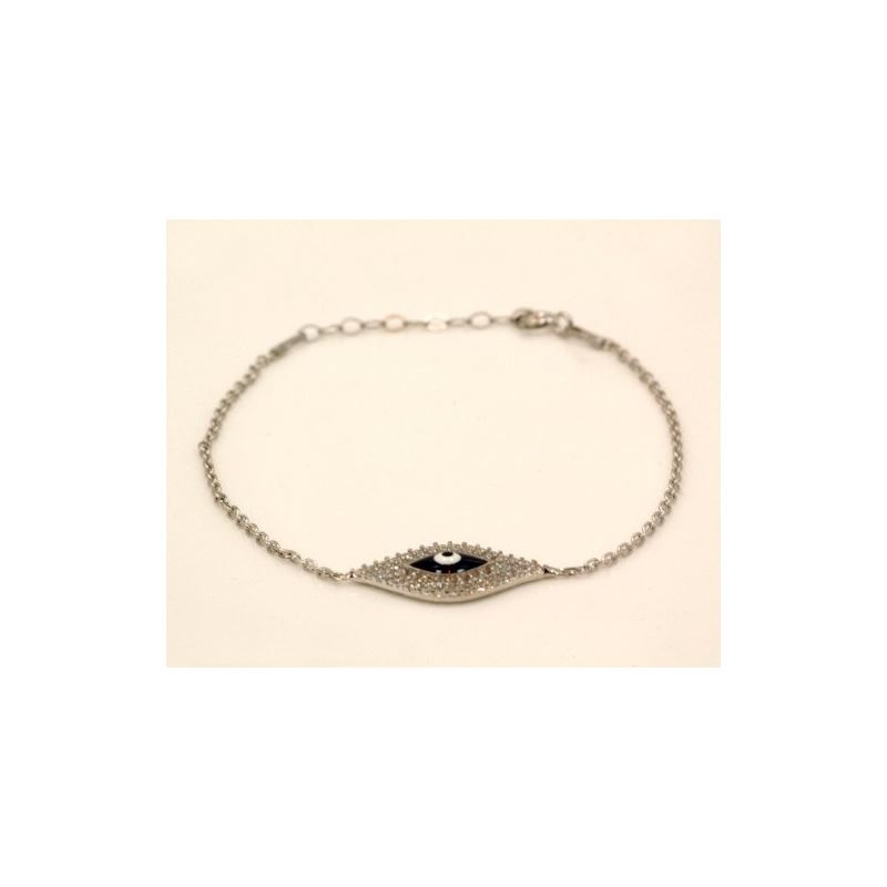 Celebrity Designer Evil Eye Sterling Sil 72935 1