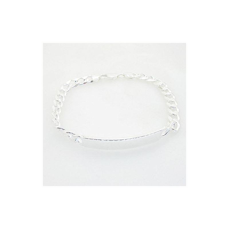 Curb Link ID Bracelet Necklace Length -  72991 1