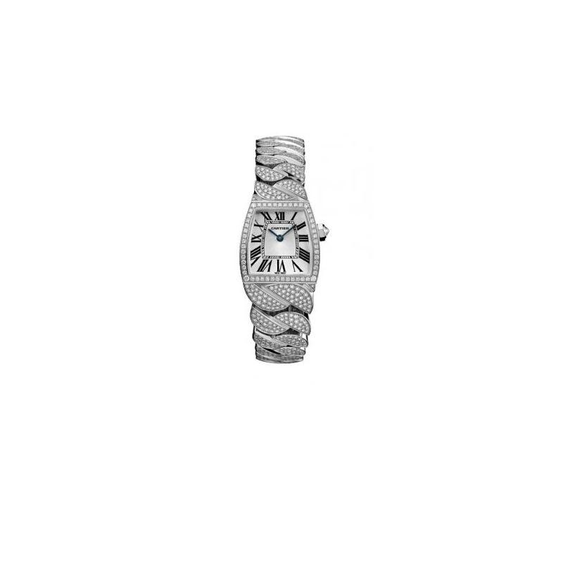Cartier La Dona Ladies Gold Watch WE6003 54515 1