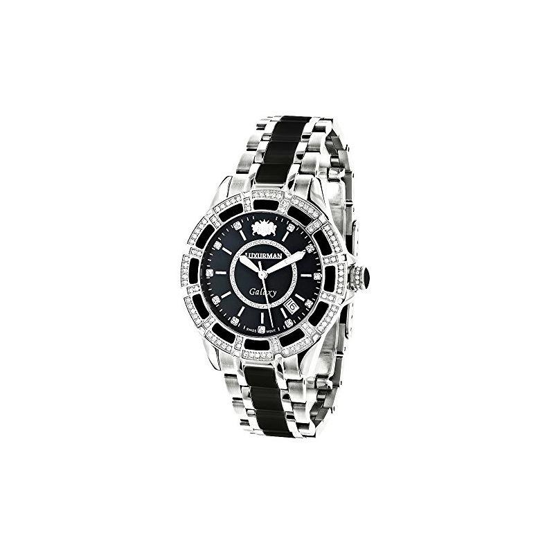 Luxurman Galaxy Midsize Real Diamond Wat 90192 1