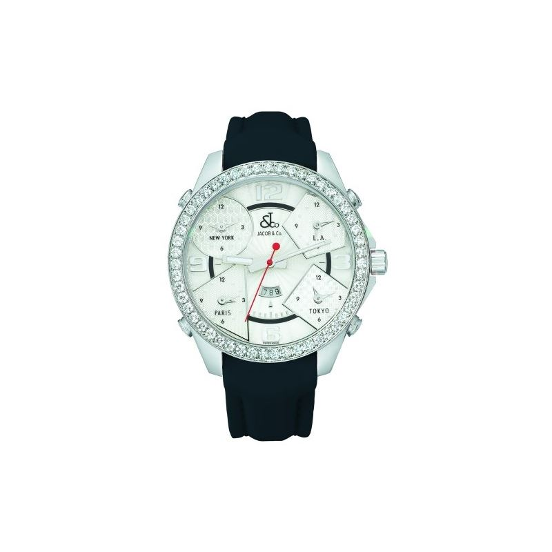 Jacob Co. Five Time Zone 3.25 CT Diamond Collectio