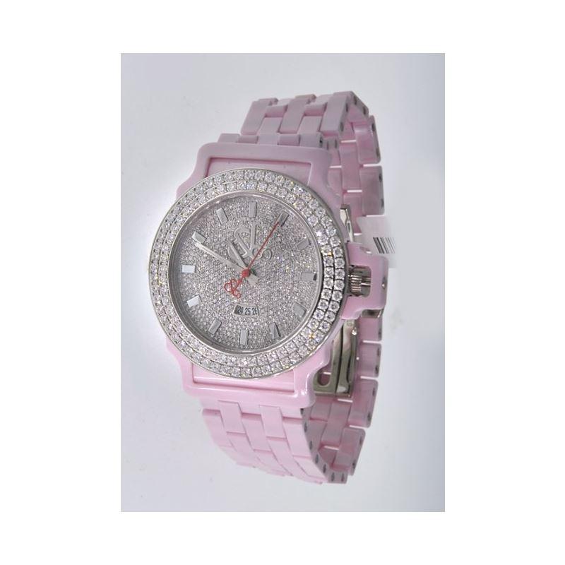 Jacob  Co Ceramic Unisex Diamond Watch J 54250 1