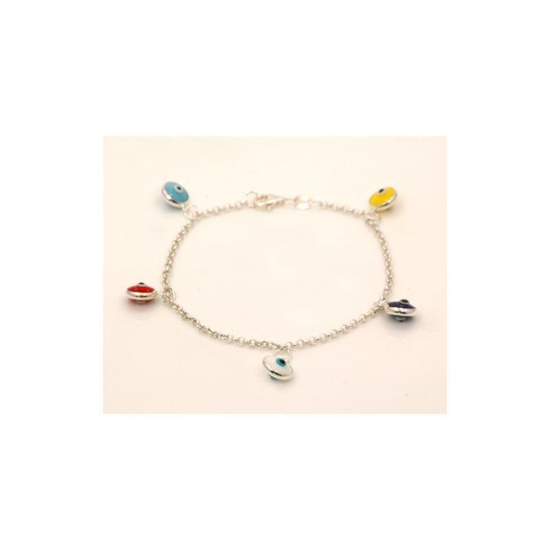 Evil Eye Murano Glass Bead Designer Ster 73099 1