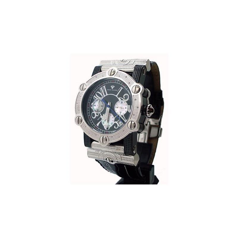 Aqua Master Unisex Diamond Watch 0.18ct  53081 1
