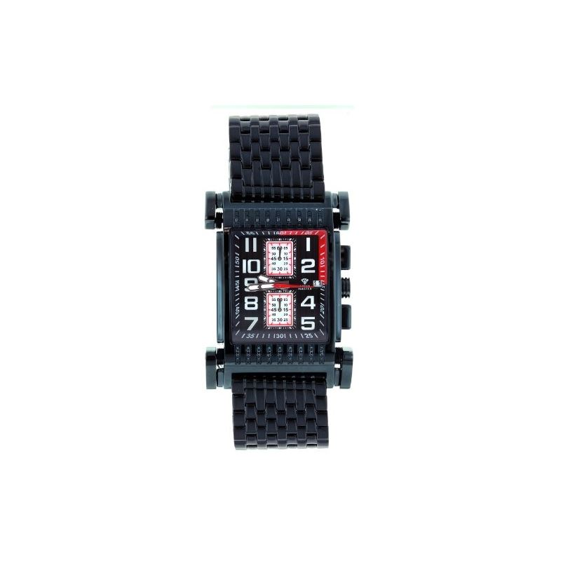 Men's Casino Series Black-PVD Stainless Steel