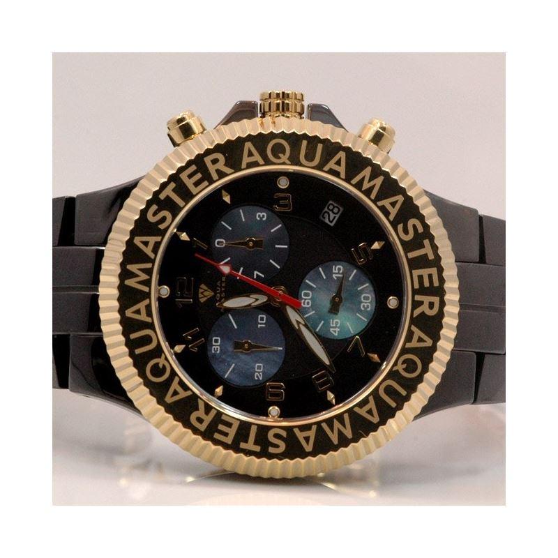 Aqua Master Mens Ceramic Quartz Watch W3 53484 1