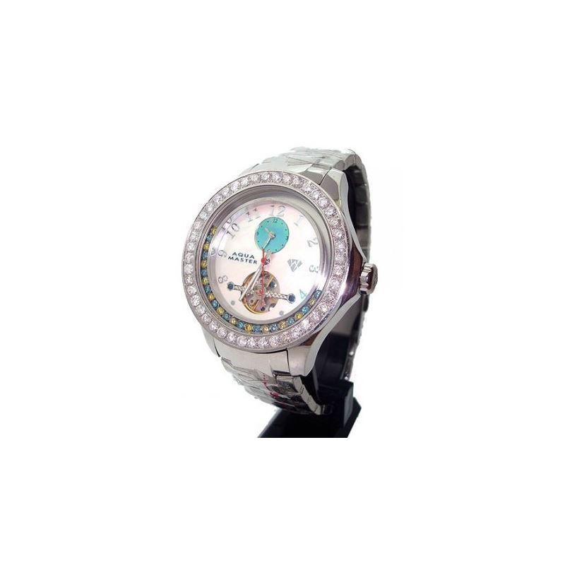 Aqua Masters 5.75ctw Automatic Diamond W 27854 1