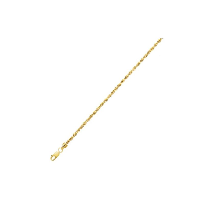 10K 10 inch long Yellow Gold 2.0mm wide  58933 1