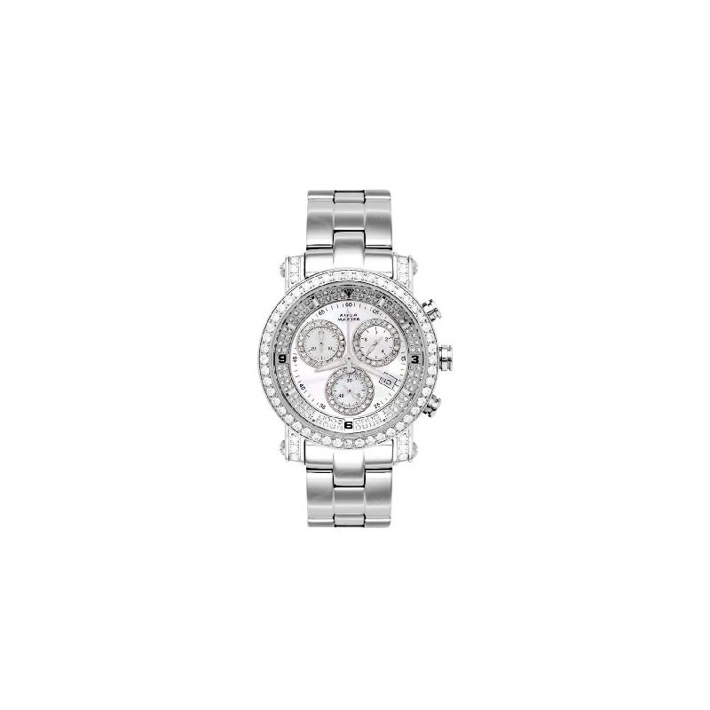 NEW! Unisex Power One-Row Diamond Watch With Diamo