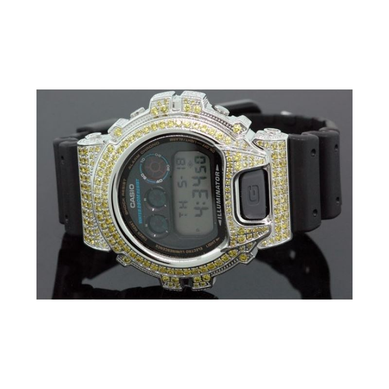 Iced Out Watches Casio G Shock Mens Digi 53066 1