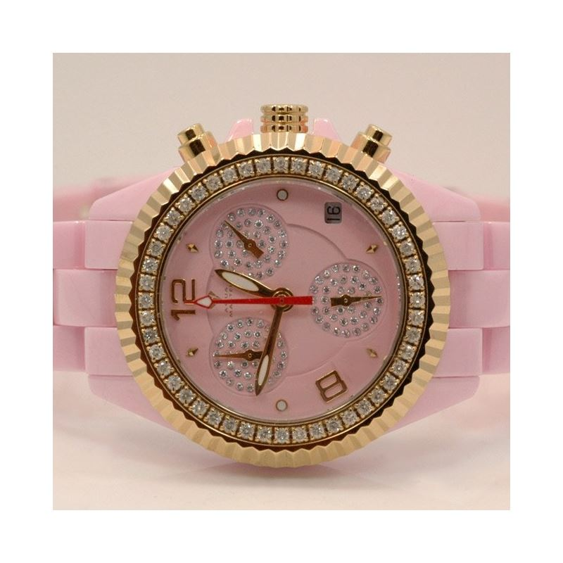 Aqua Master Ladies Ceramic Diamond Watch 53488 1