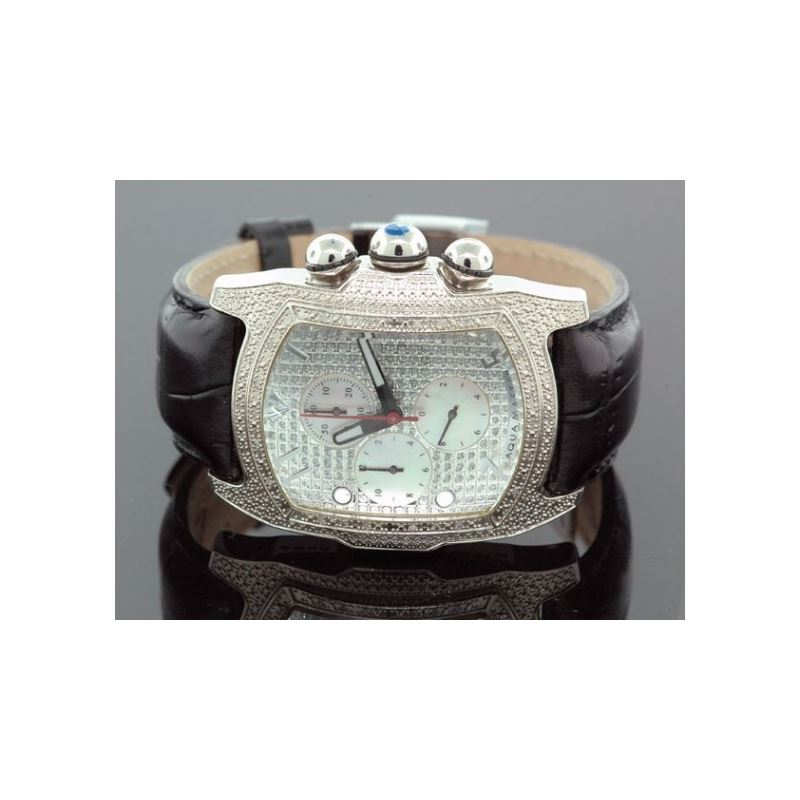 Aqua Master Mens Diamond Watch 96-51 54538 1