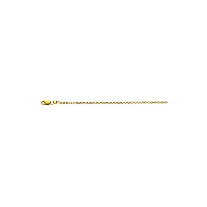 10K 16 inch long Yellow Gold 2.30mm wide 59008 1
