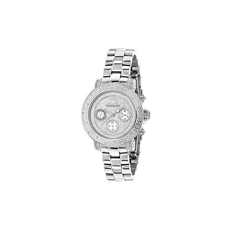 Iced Diamond Watches 0.3ct Luxurman Diam 91105 1