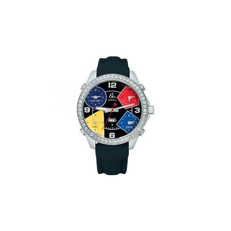 Jacob  Co. Five Time Zone Watch JC11 53101 1