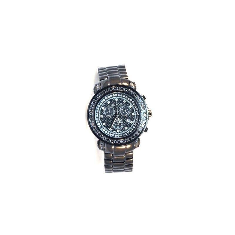 Joe Rodeo Mens Black Diamond Watch JJU30 89270 1