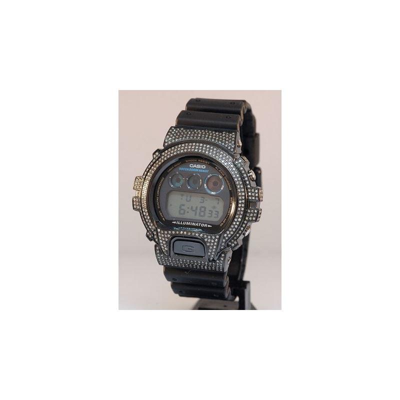 Mens G Shock Diamond Watch 5.25ctw 53031 1