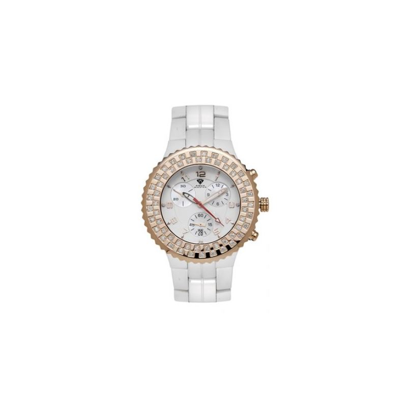 Aqua Master Unisex Ceramic Diamond Watch 53472 1