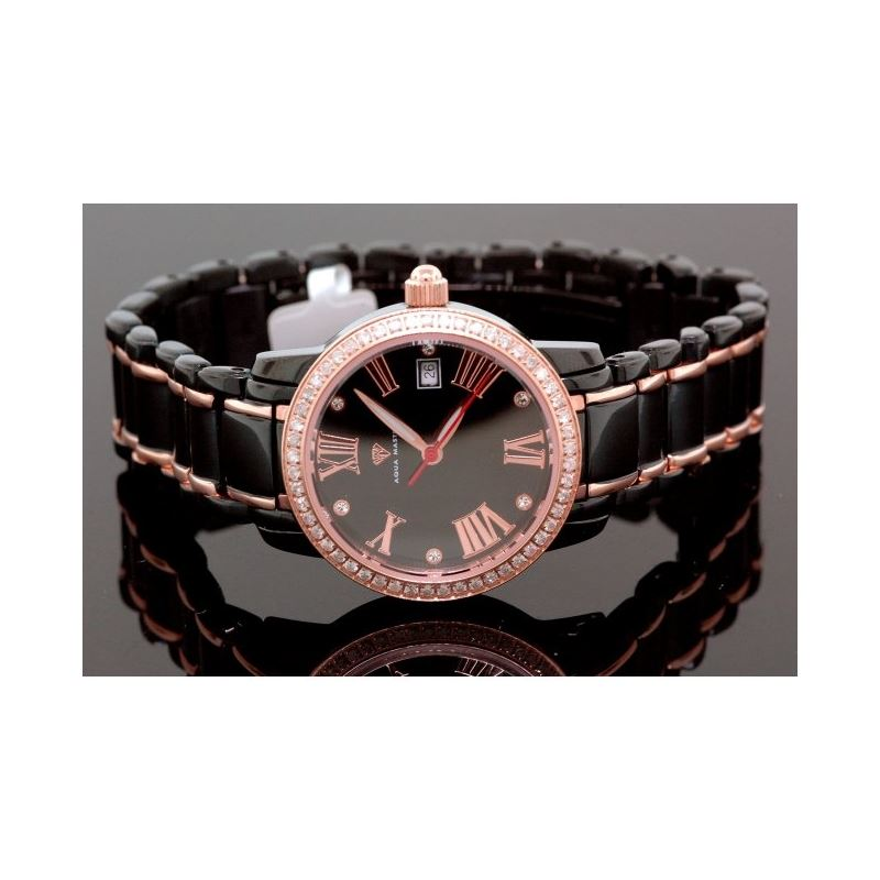 Aqua Master Ladies Classic Diamond Watch 55791 1