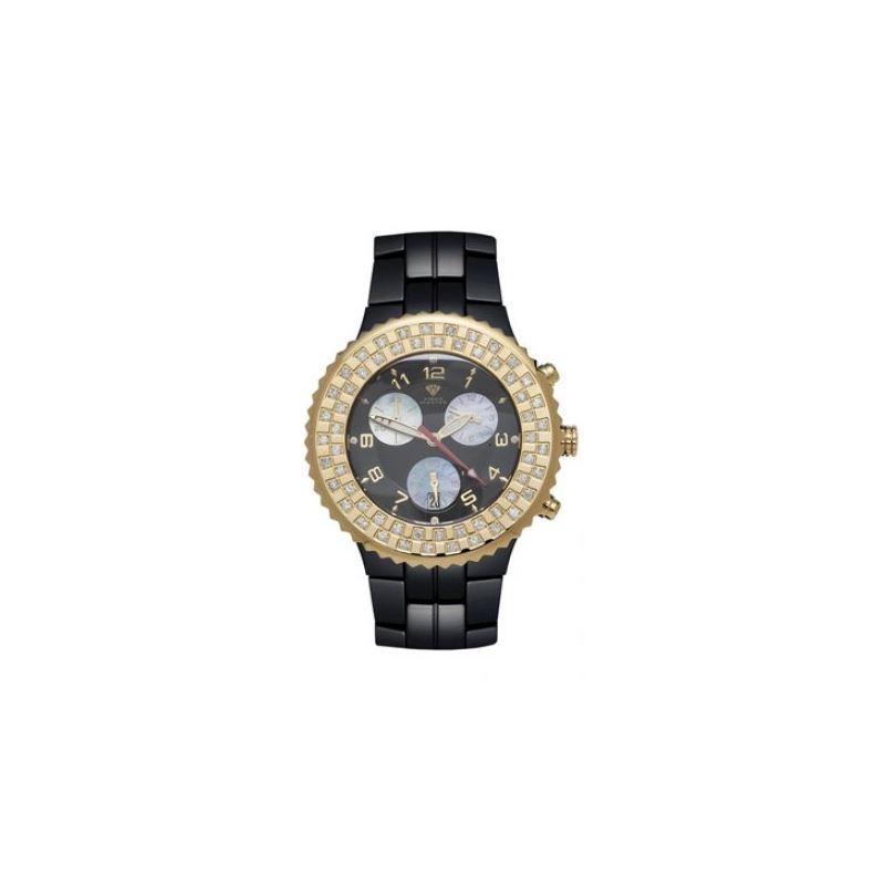 Aqua Master Unisex Ceramic Diamond Watch 53474 1