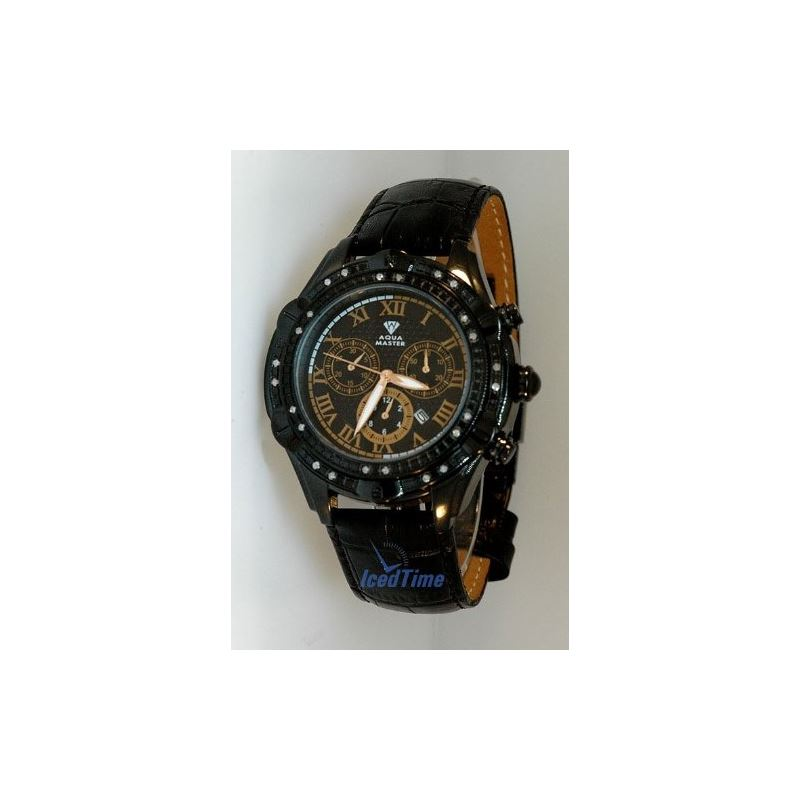 Mens Black Diamond Watch - New 2011 Model