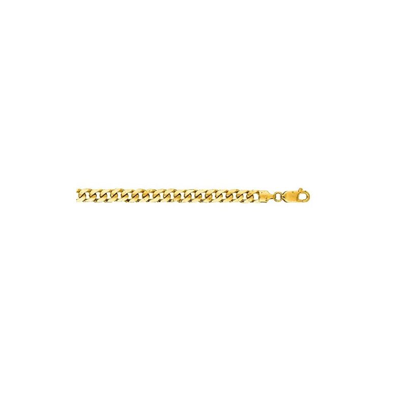 14K Yellow Gold 5.8mm wide Diamond Cut M 66980 1
