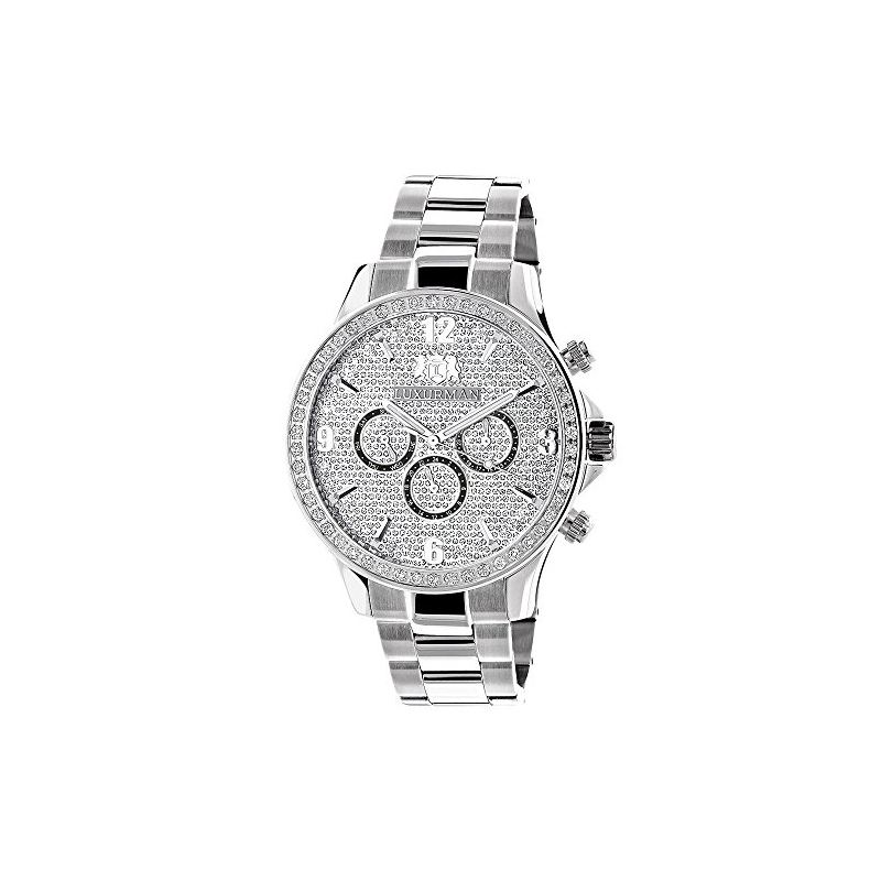 Liberty Mens Real Diamond Watch 2ct by L 90901 1