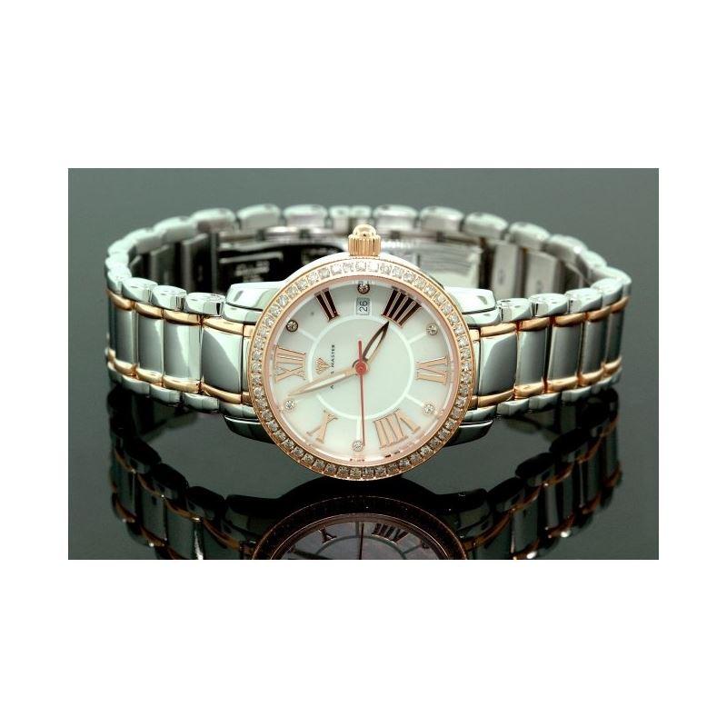 Ladies Classic Diamond Aqua Master Watch 55797 1