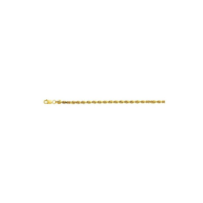 10K 16 inch long Yellow Gold 3.20mm wide 59016 1