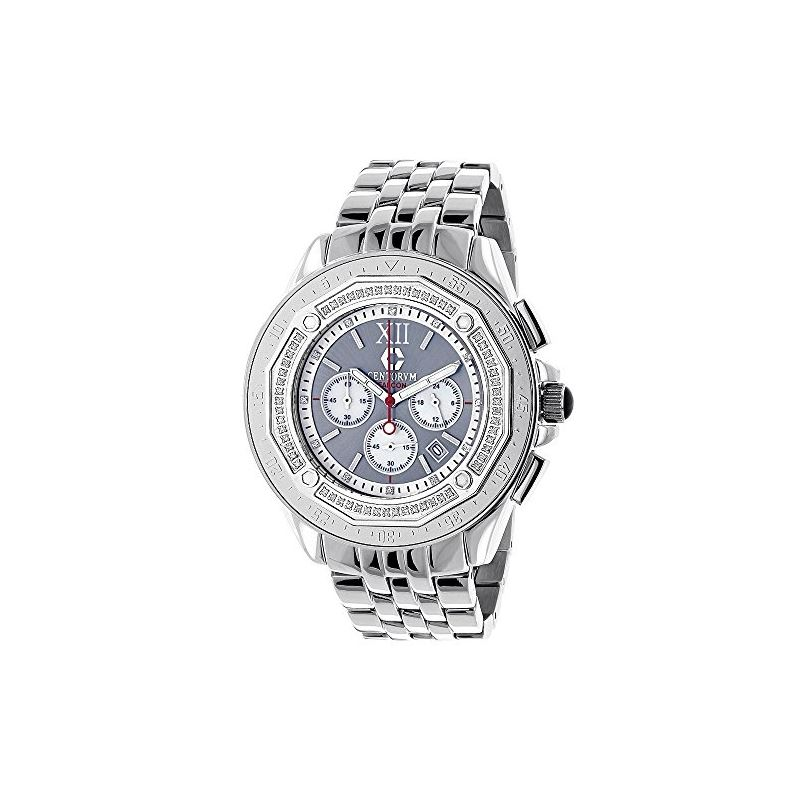 Centorum Mens Real Diamond Watch 0.55ct  89683 1