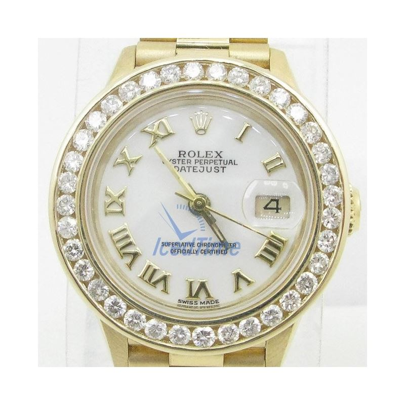Rolex Datejust Mother of Pearl Dial Auto 54023 1