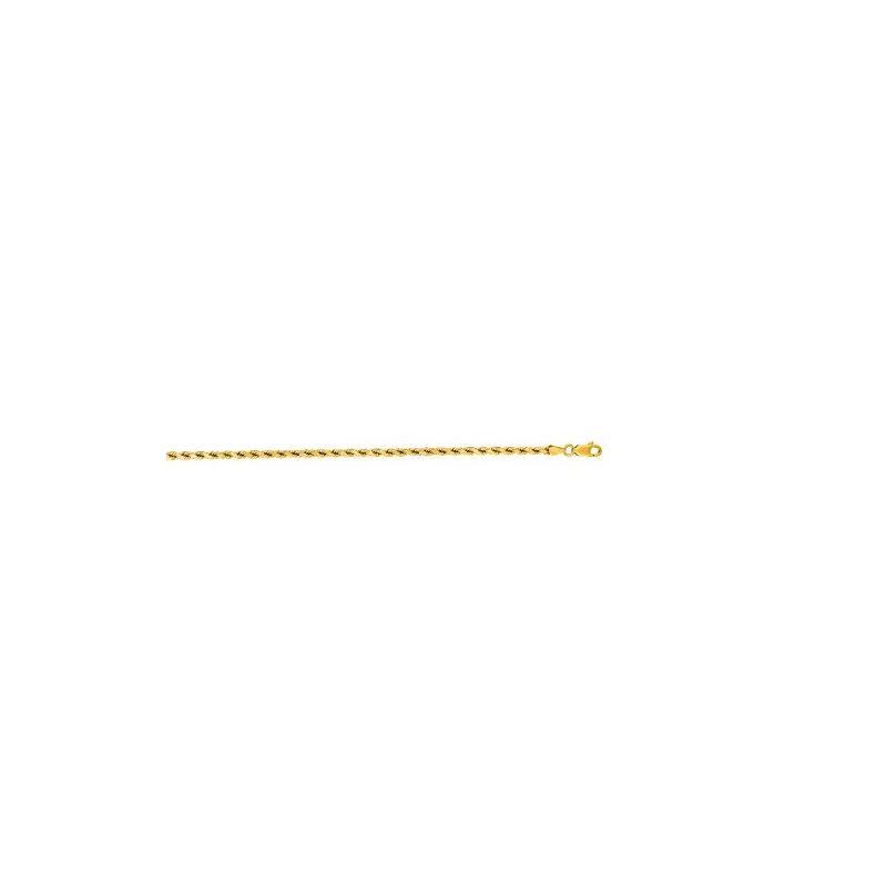 10K Yellow Gold 3.5mm Shiny Solid Diamon 60207 1