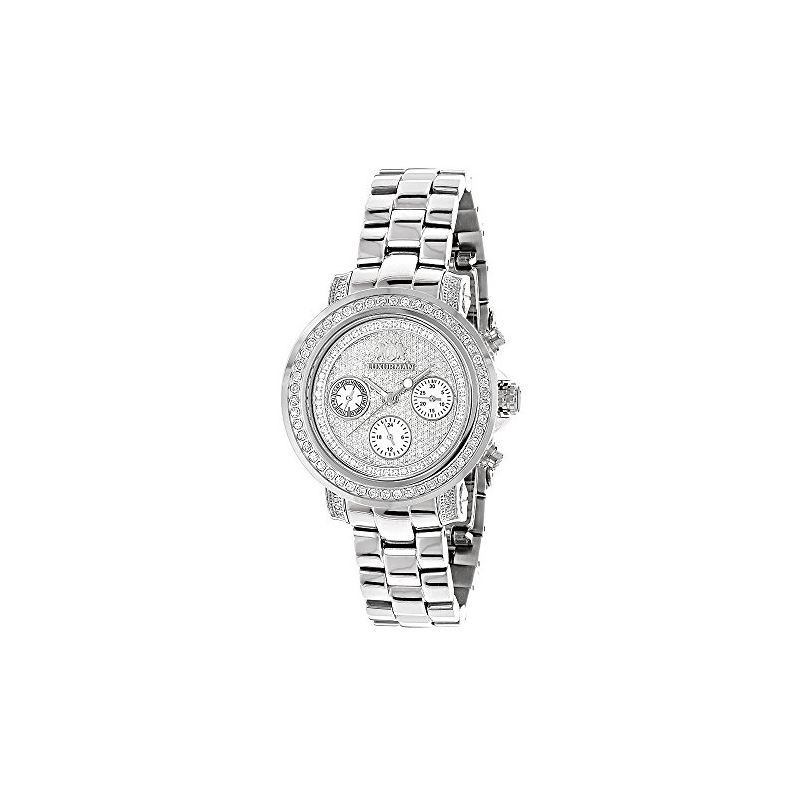 Iced Out Genuine Diamond Watch For Women 89870 1