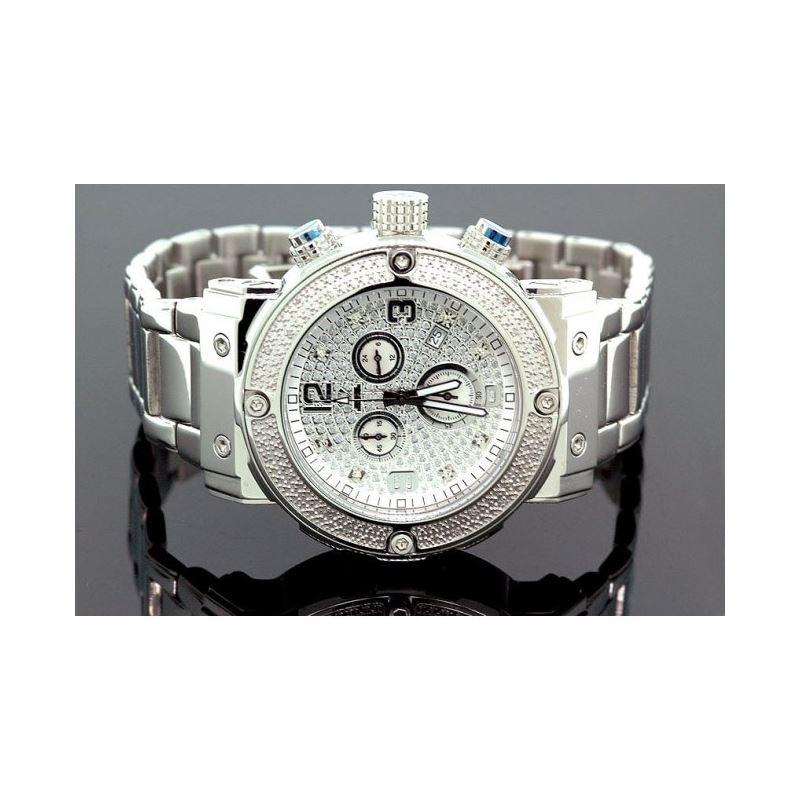Aqua Master Mens Diamond Watch 0.20ct w- 28067 1
