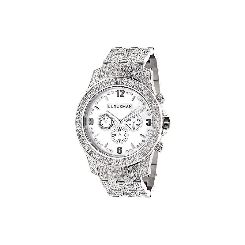 Mens Raptor Iced Out Real Diamond Watch  89894 1