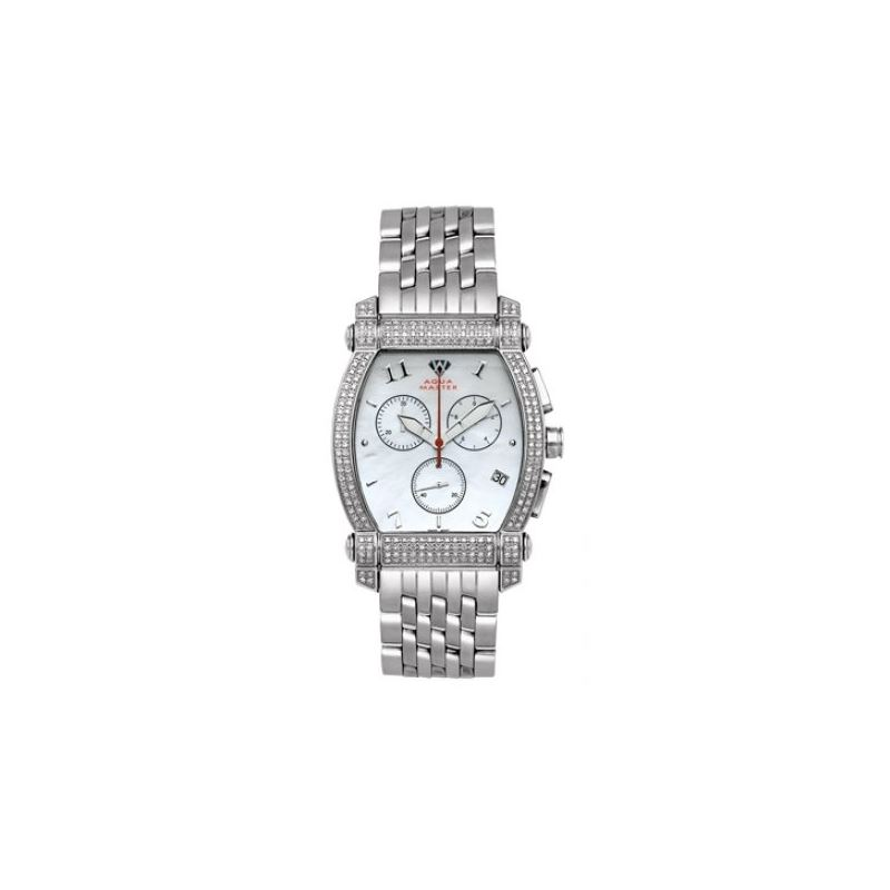 Aqua Master Diamond Watch Unisex Stainle 53447 1