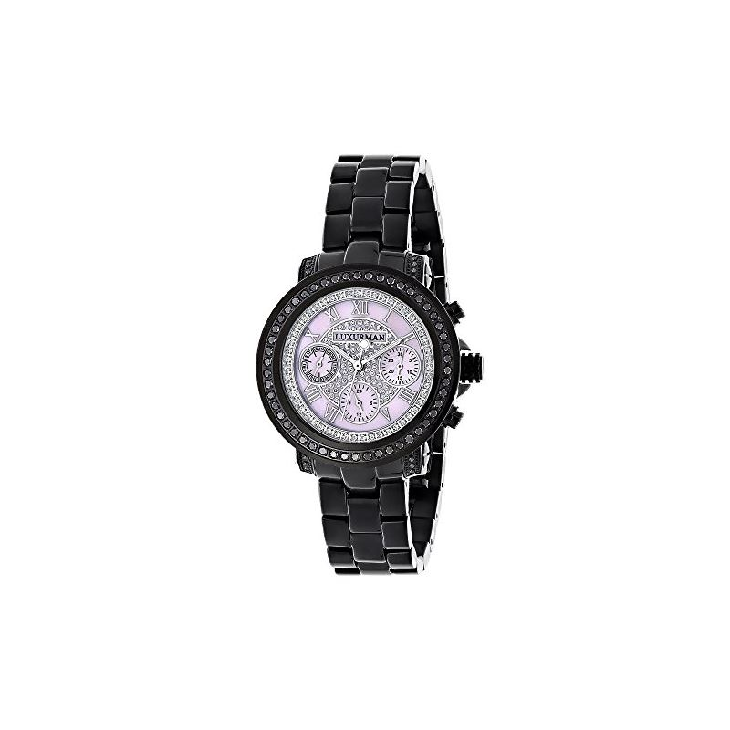 Ladies Diamond Watches: Luxurman Real Bl 89988 1