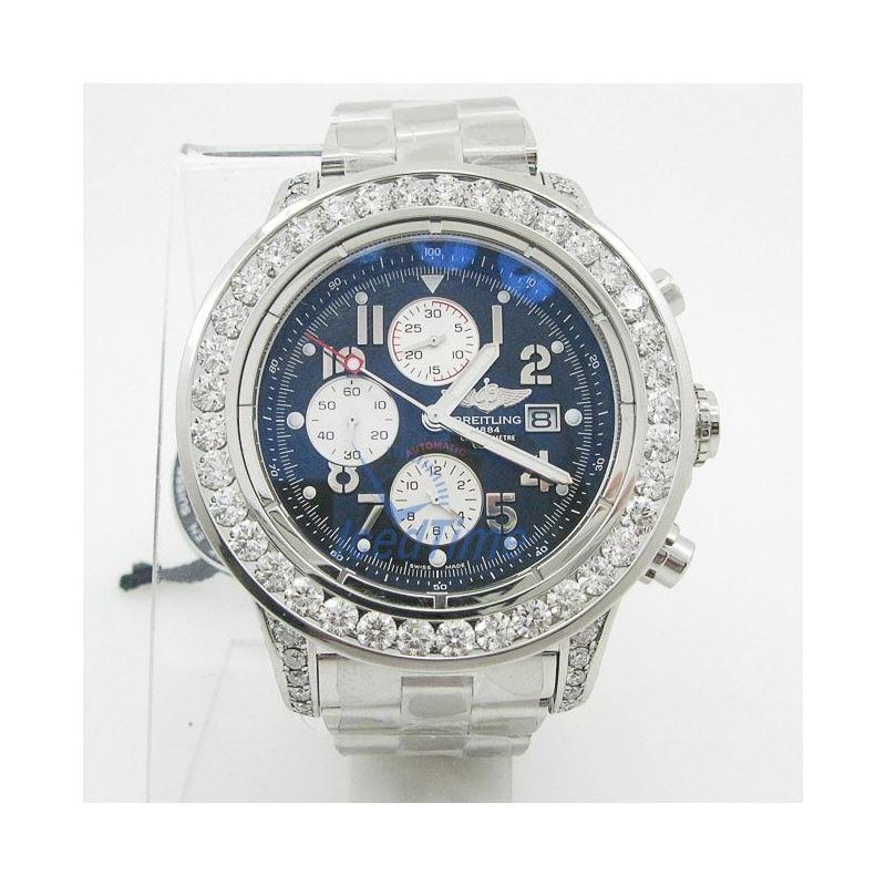 Breitling Super Avenger Chronograph Mens 55377 1