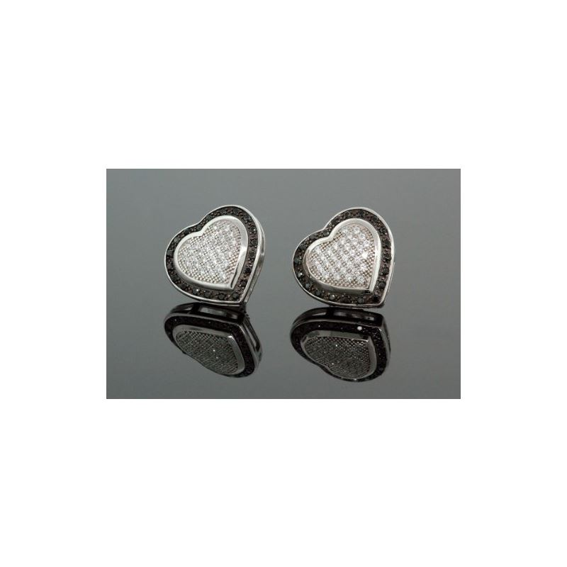 .925 Sterling Silver White Heart White a 58578 1