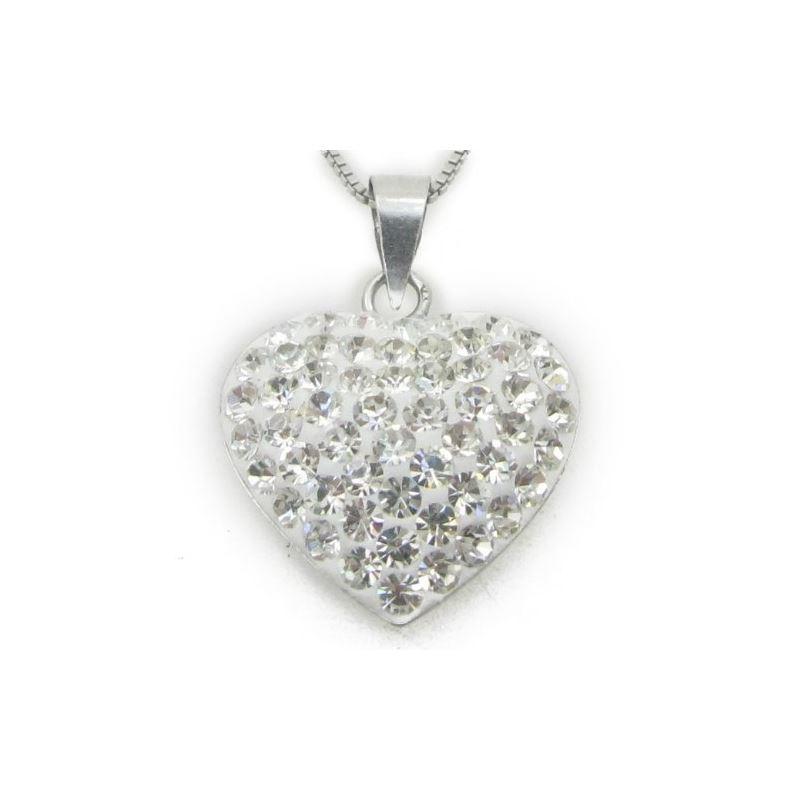 Ladies .925 Italian Sterling Silver Whit 74676 1