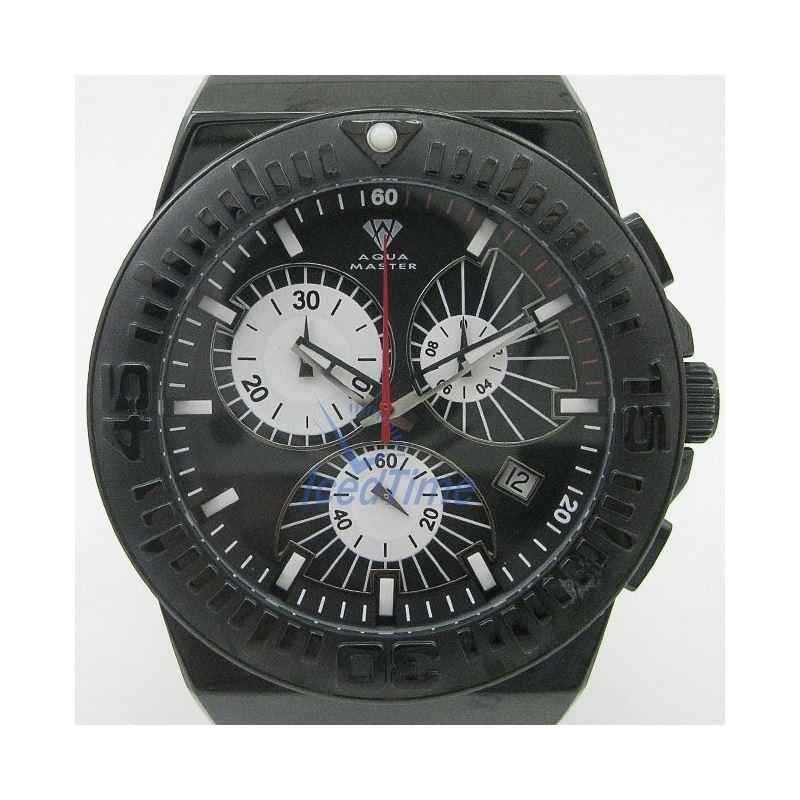 Mens Aqua Master Iced Out Diamond Watch  50503 1