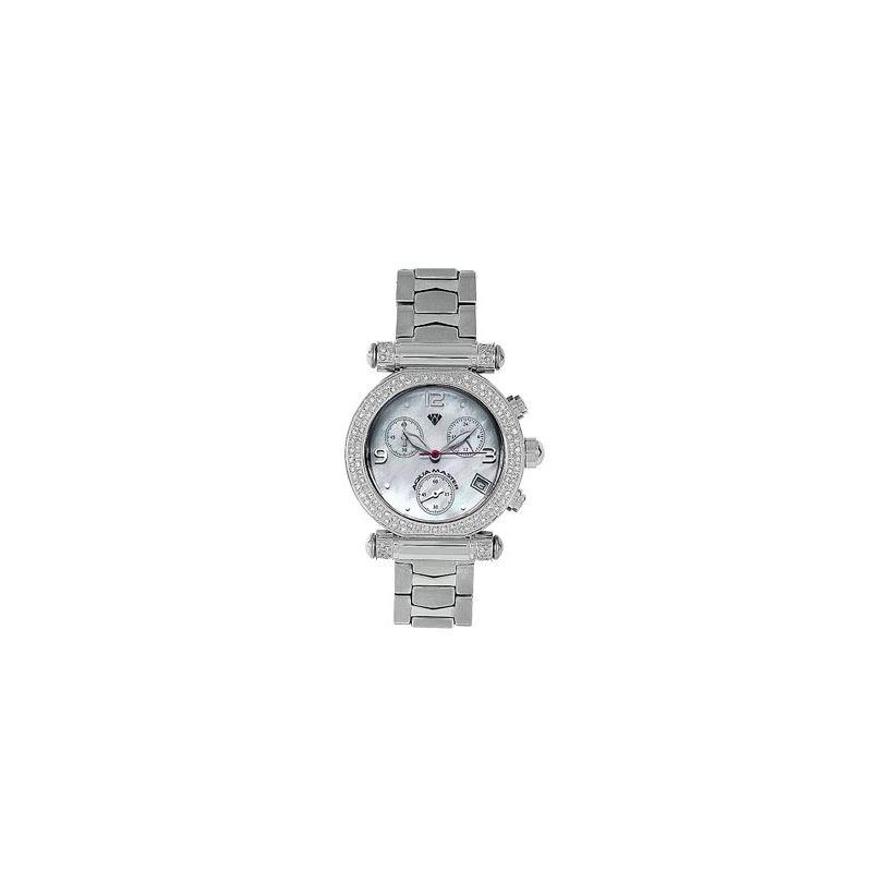 Ladies' Round Diamond Watch, 0.85 Ctw-