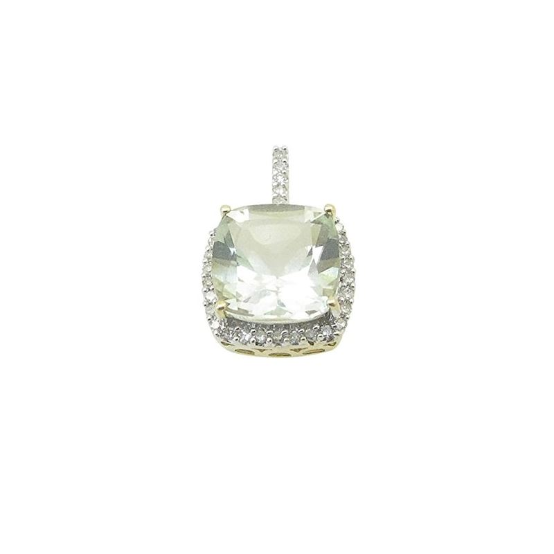 Ladies 10K Solid Yellow Gold Fancy stone 74903 1